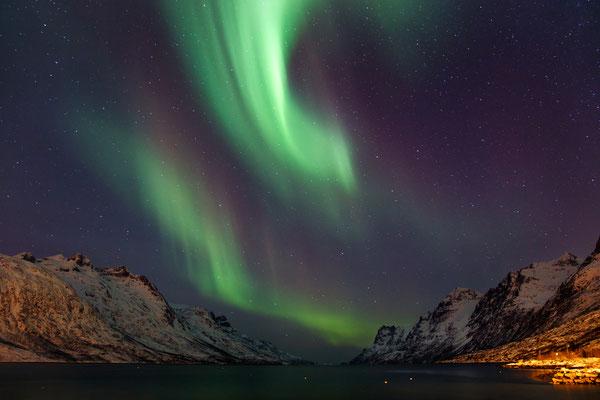 Voir les aurores Boréales dans le Nord de l'Europe - Source : Photodune