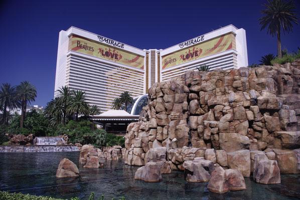 Le Miage Hotel et son magnifique show à Las Vegas