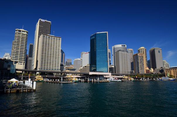 Le port de Sydney et ses gratte-ciels