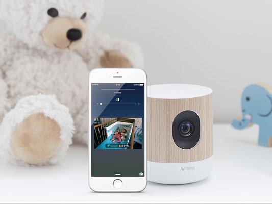 La caméra Home de Withings fait aussi Babyphone ! / Crédit Photo : Withings