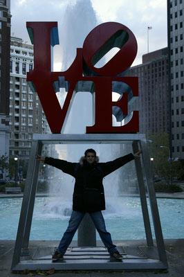Le Love Park de Philly !