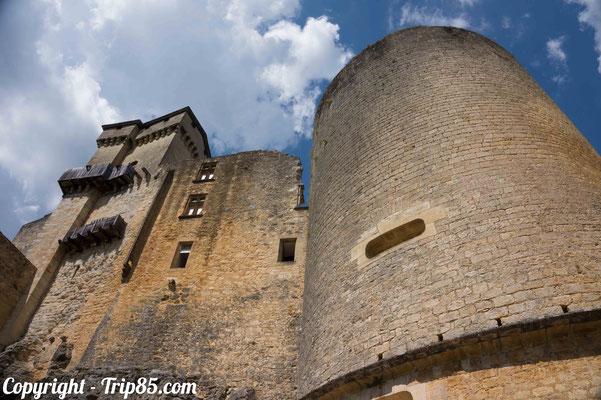 Le chateau de Baynac est impressionnant