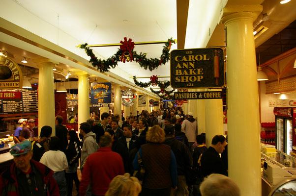 L'intérieur de Quincy Market, un brin touristique mais incontournable !