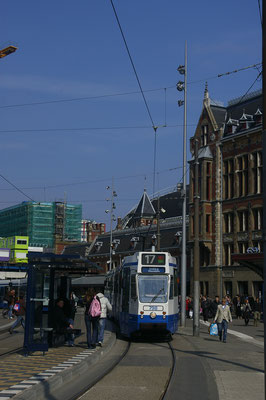 Le tramway d'Amsterdam  - Copyright : Trip85.com