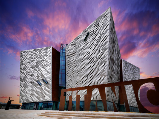 Le Musée du Titanic à Belfast - Crédit Photo : Ireland Tourism - Chris Hill
