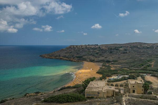 Ramlay Bay à Gozo !