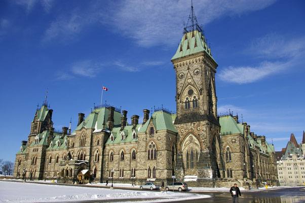 Le Parlement d'Ottawa ! Source : Trip85.com