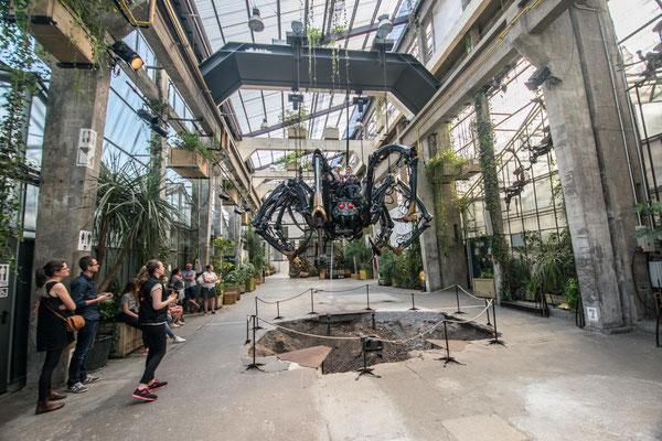 La galerie des machines - Araignée