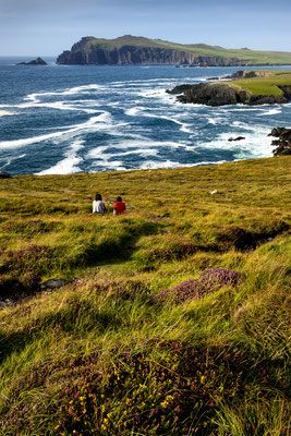 Vue sur Dunmore Head - Crédit Photo : Ireland Tourism - Wendy Mitchell