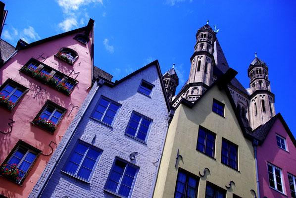Déambuler dans le vieux Cologne !