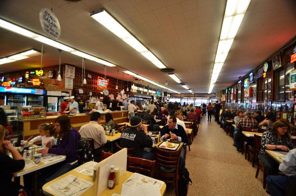 Chez Katz's Deli ! L'un des plus connus de New York !