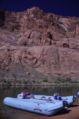 Descente en rafting sur le Colorado !