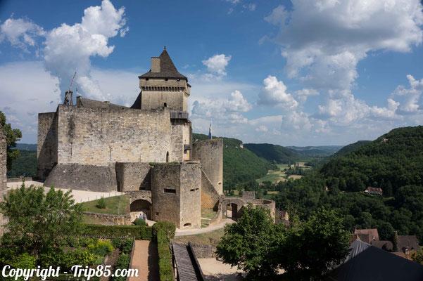 Le château-fort de Castelnaud