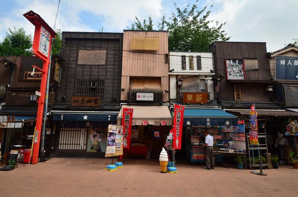 Dans les rues aux alentours de Senso-Ji - Source : Trip85.com
