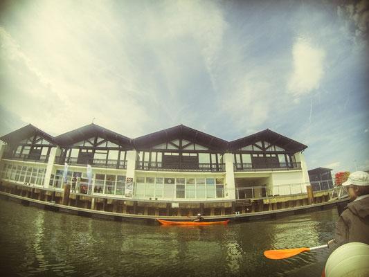 Départ de notre sortie Kayak depuis Hendaye