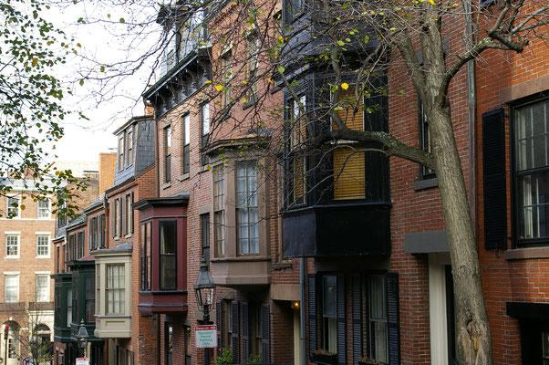 J'adore l'architecture authentique de Boston qui rappelle l'Europe !