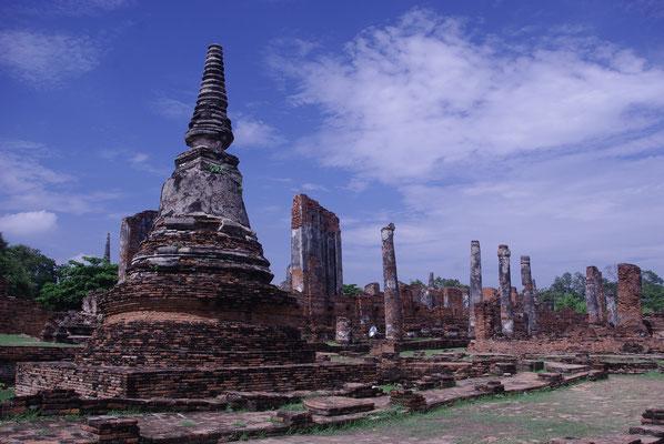 On a loué les services d'un guide anglophone pour visiter Ayutthaya - Crédit Photo : Trip85.com