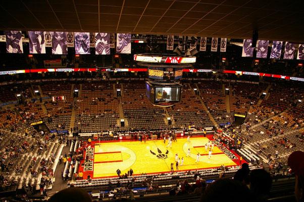 Un match de NBA à Toronto avec Les mythiques Raptors !