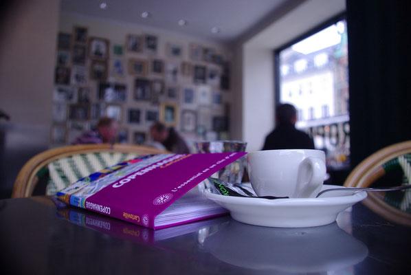 Faire une pause dans un café cosy de Copenhague est très appréciable en hiver !