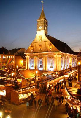 Lumières de Noël Montbéliard©OT Pays de Montbéliard-Denis Bretey