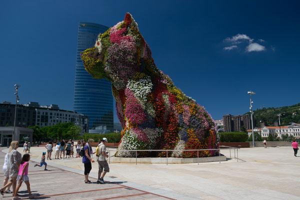 Puppy devant le Musée Guggenheim - Bilbao