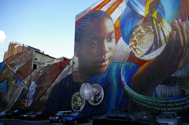 Partez à la découvertes des fresques murales de Philly !