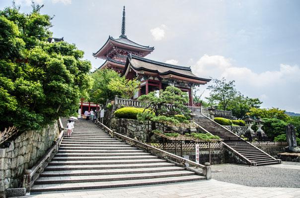 Le temple Kiomizu-Dera