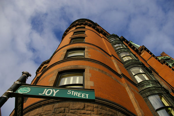 Joy Street à Boston !