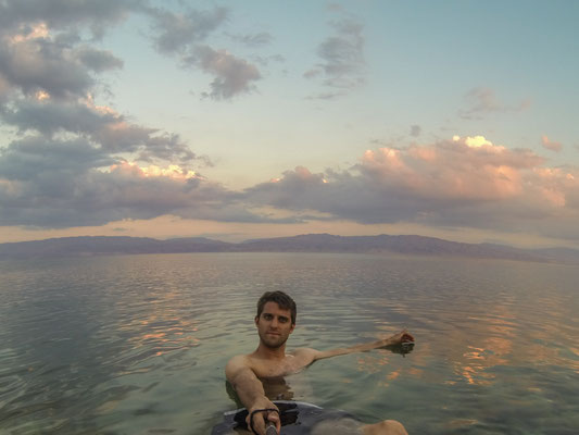 Se baigner dans la Mer Morte  - CopyRight : Trip85.com