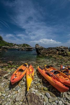 Sortie Kayak à Hendaye - La Baie des cochons