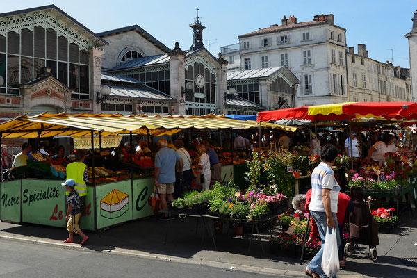 Le marché - Francis Giraudon - OT La Rochelle