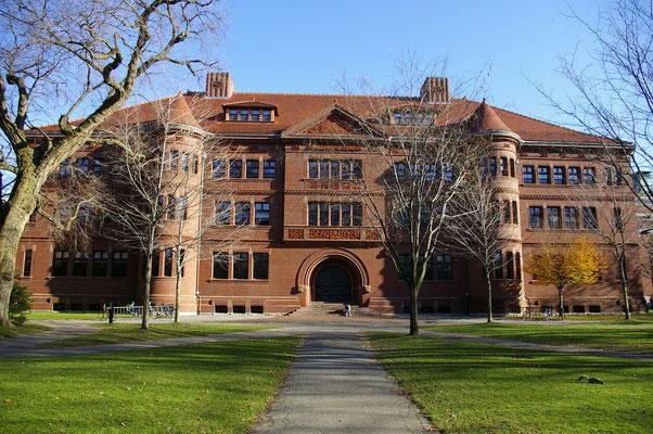 L'Université d'Harvard ! Une université mythique dans le monde entier !