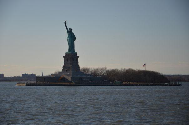 La Statue de la Liberté à New York ! L'emblème de la ville ! Crédit Photo : Trip85.com