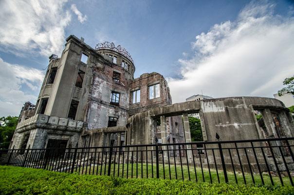 Le dôme d'Hiroshima, Japon