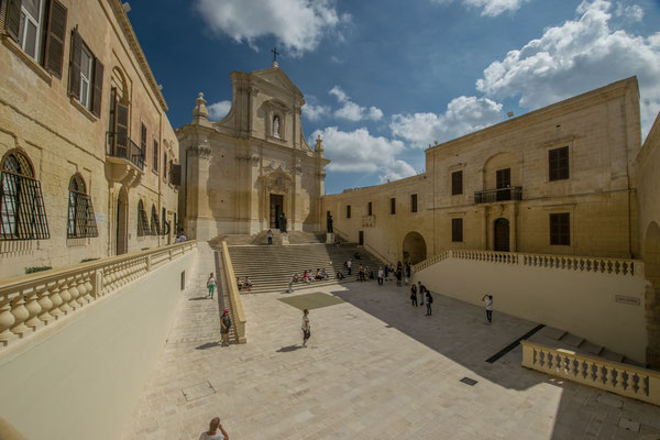 Visiter la citadelle de Victoria, capitale de Gozo !