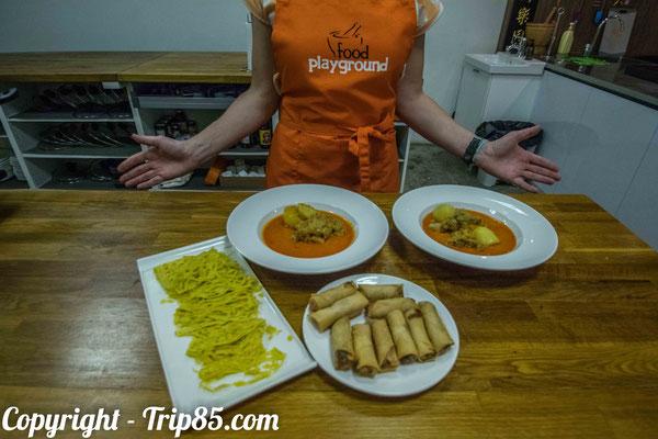 Prendre un cours de cuisine singapourienne !