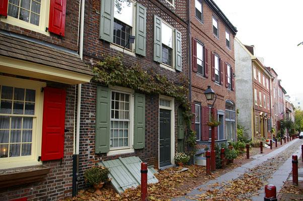 J'adore ces maisons du quartiers historiques de Philly !