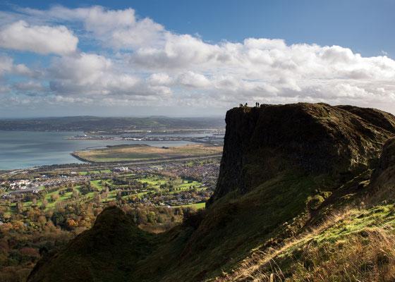 Vue sur Belfast depuis Cavehill - Crédit Photo : Ireland Tourism - Arthur Ward