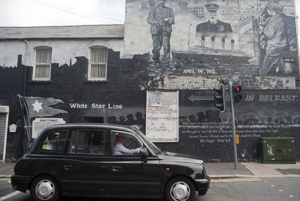 Les Fresques murales de Belfast - Crédit Photo : Ireland Tourism - Tony Pleavin