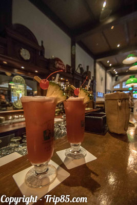 Goûter le mythique cocktail : Singapore Sling !