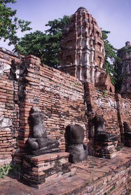 On a loué les services d'un chauffeur privé pour visiter Ayutthaya - Crédit Photo : Trip85.com