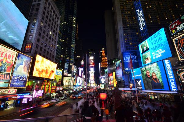 Times Square à New York est incontournable  ! - Crédit Photo : Trip85.com