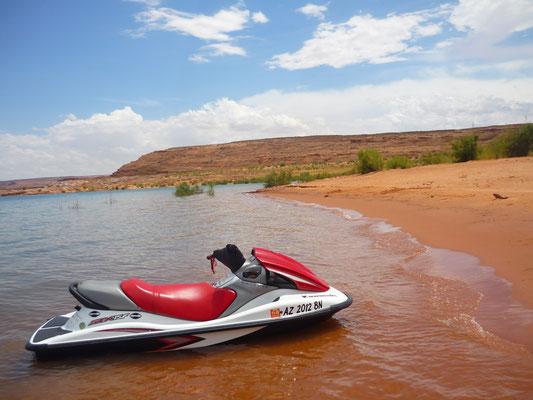 Faire du Jet Ski sur le Lac Powell !