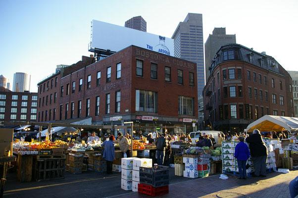 Un marché de Boston très populaire !