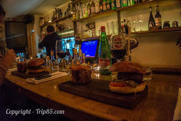 Diner dans un restaurant branché de Jérusalem