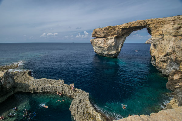 Azure Window à Gozo !