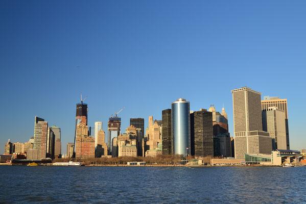 Le temps n'est pas si mal à New York pendant la saison basse?