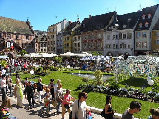 05 - Fête de l'Oignon, Mulhouse Alsace - Source OT de Mulhouse