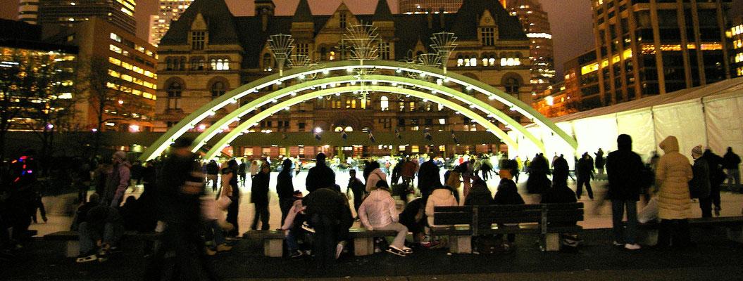 Patinoire Toronto - Copyright Trip85.com