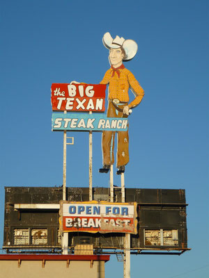 Le Big Texan Ranch !